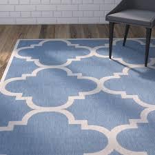 area rugs short lattice blue beige indoor outdoor area rug