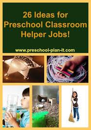 Free Preschool Classroom Job Chart Pictures Preschool Classroom Jobs