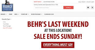 Future of Behr s Superstore remains uncertain