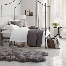 new zealand extra large grey sheepskin rug 110cm x 180cm