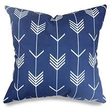 cobalt blue throw pillows. Brilliant Blue Popeven Royal Blue Arrow Decorative Pillow Covers Geometric Pattern Throw  Pillows For Couch And Sofa To Cobalt C