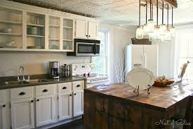 ... Interesting Kitchen Design And Decoration With Reclaimed Wood Kitchen  Cabinets : Enchanting Image Of Kitchen Design