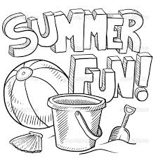 Free Printable Coloring Sheets Summer 83 For Your Line Drawings