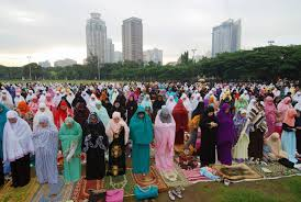 the eid al fitr celebration marks the end of ramadan for muslims