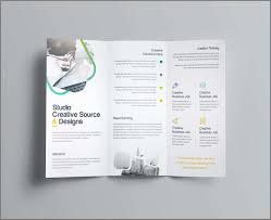 Brochure Template Maker Free Printable Flyer Online Canva Uk