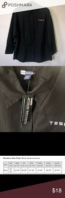 Tesla Clothing Size Chart Tesla Button Down Collared Shirt Blouse 2xl Nwt Brand New