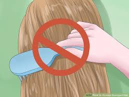 image titled re damaged hair step 5