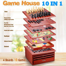 Game With Rocks And Wooden Board 10000 in 100 Wooden Board Games House Brown Crazy Sales 84