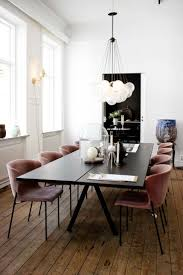 crystal dining room for luxurious impression. Modern European Dining Room With Bubble Chandelier Via Thou Swell Crystal For Luxurious Impression I