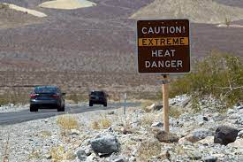 Kalifornien misst 54,4 Grad ...