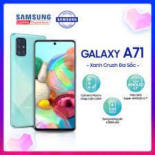 Điện Thoại Samsung Galaxy A71 128GB (8GB RAM) - SM-A715FZSEXXV /  SM-A715FZKEXXV / SM-A715FZBEXXV - Màn hình tràn viền vô cực 6.7 inch  SuperAmold Full HD + Bộ 4 CAMERA SAU 64MP +