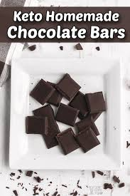 Keto recipes with hershey's cocoa powder. Homemade Keto Chocolate Bars With Monk Fruit Low Carb Yum