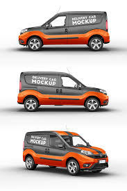 Use the most unique collection of mockup templates to create stunning mockups online within seconds. Delivery Car Mockup 3 In 2020 Fiat Doblo Orange Vans Car