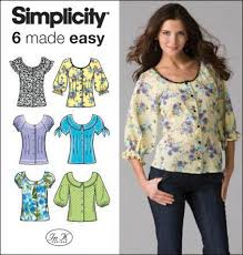 Simplicity Blouse Patterns Custom Simplicity 48 Misses Blouses