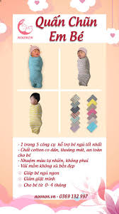 Shop đồ sơ sinh NOONON - Túi ngủ trẻ em - Quấn nhộng chũn cao cấp