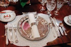 formal table settings. In Formal Table Settings