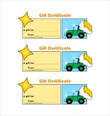 8 Homemade Gift Certificate Templates Doc Pdf Free Premium