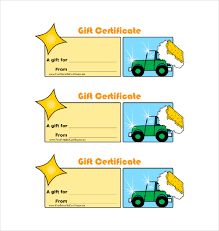 homemade car wash gift certificate pdf template free