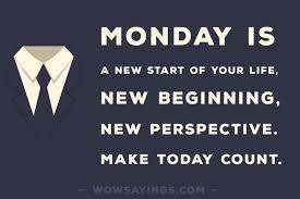 Monday Morning Quotes Impressive Monday Is A New Beginning Monday Morning Quotes On WowSayings