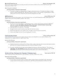 Manufacturing Resume Templates Stunning Production Resume Template Sample Resume For A Manufacturing Plant