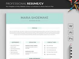 Creative Resume Templates Free Word Resume Template Word By Classic Designp On Dribbble