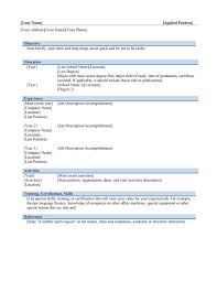 Free Resume Templates General Cv Examples Uk Sample For Teachers