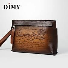 Handmade <b>Dimy</b> Men Berluti Style Patina <b>Genuine Leather</b> Carving ...