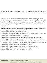 Team Leadership Resume Examples Leader Skills For Resumes