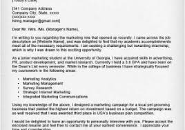How To Write A Cover Letter For Summer Internship Cover Letter For