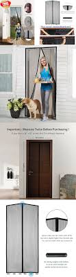 Magnetic Curtains For Doors Best 25 Magnetic Screen Door Ideas Only On Pinterest Screen