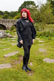 wearing a new look dress oasis waterfall leather jacket black tights and long tall