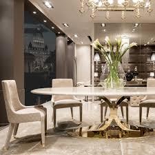 high end dining room furniture. high end gold oval designer dining table set room furniture 9