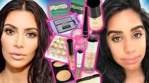 we tried kim kardashian s makeup routine for a week