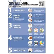 Food Hygiene Poster Kitchen Hygiene Poster A2 Morsafe