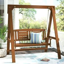 outdoor baby swing with stand metal
