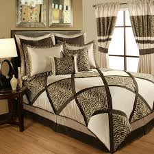 sherry kline true safari taupe comforter collection