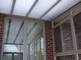 sunroom clear roof opaque panels