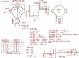 4 phase 5 wire stepper motor 28byj 48 5v 5v electrodragon 4 phase 5 wire stepper motor 28byj 48 5v