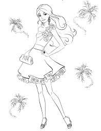Download Coloring Pages. Barbie Princess Coloring Pages: Barbie ...