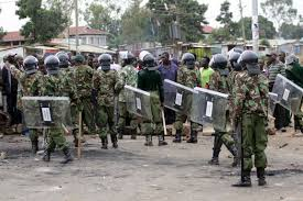 Image result for Kenyan Police beat six-month-old baby to death'