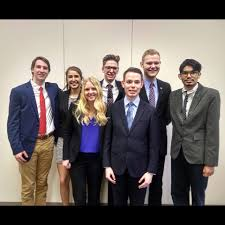 drake university mock trial home facebook image contain 7 people people smiling people standing and suit
