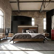 Ellegant industrial style bedroom furniture