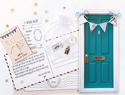 Blue Tooth Fairy Door Official Receipts Tooth Chart And