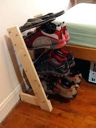 shoe rack diy rotating shoe rack diy plans
