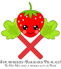 Don't Eat the Paste: Strawberry-Rhubarb coloring page