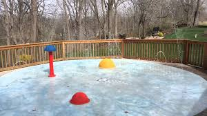 gallery of backyard splash pads