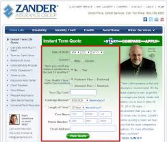 zander life insurance quote fascinating free zander life insurance quote