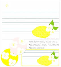 Note Card Maker Printable Online Recipe Card Maker Online Recipe Card Maker Free