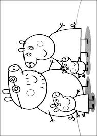 Kids N Fun Kleurplaat Peppa De Big Familie Peppa