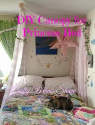 Crafty Moms Share: DIY Canopy for a Princess Bed